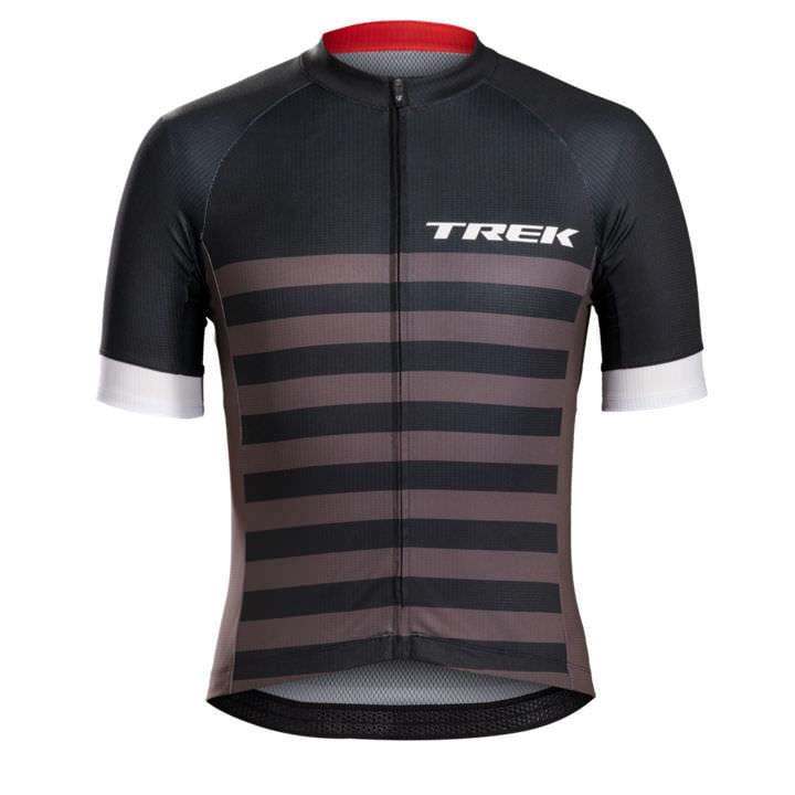 BONTRAGER shirt met korte mouwen Specter Trek Black Stripes fietsshirt met korte