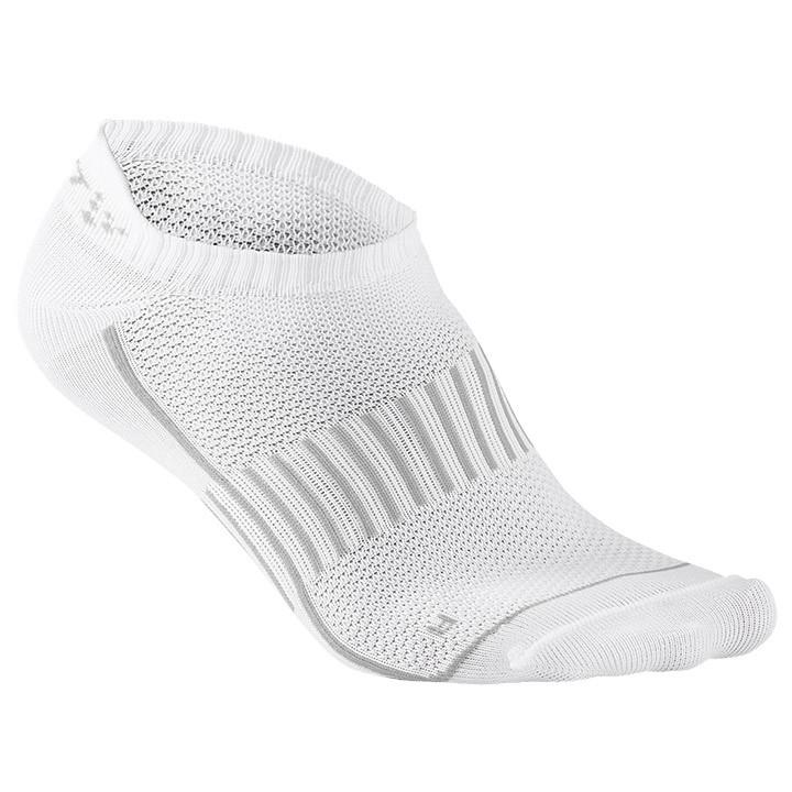 CRAFT footies Multi 2-Pack Cool, wit enkelsokken, voor heren, Maat XL, Wielrenkl