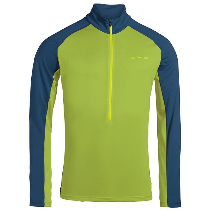 VAUDE shirt met lange mouwen-Bikeshirt Larice II bikeshirt, voor heren, Maat XL,