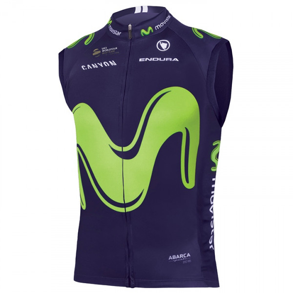 Gilet coupe-vent MOVISTAR TEAM 2017