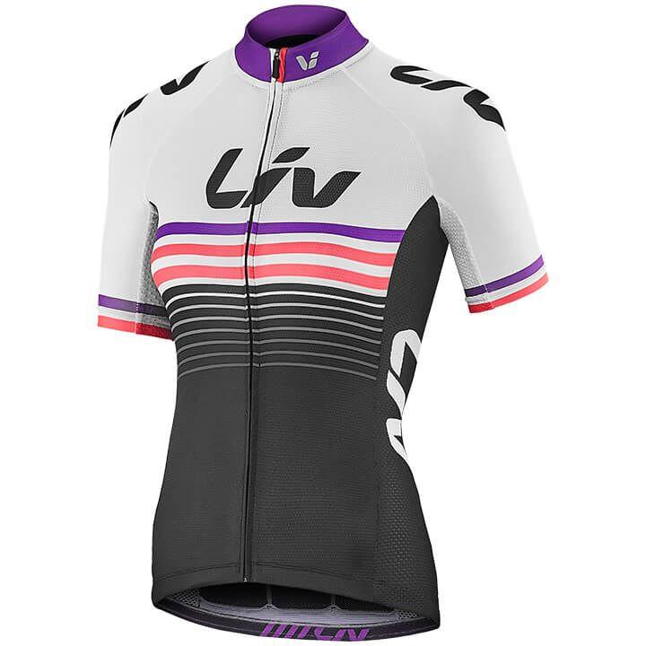 LIV Damesshirt Race Day damesfietsshirt, Maat M, Wielershirt, Fietskleding