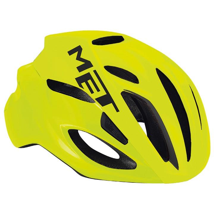 MET RaceRivale 2018 fietshelm, Unisex (dames / heren), Maat M, Fietshelm,