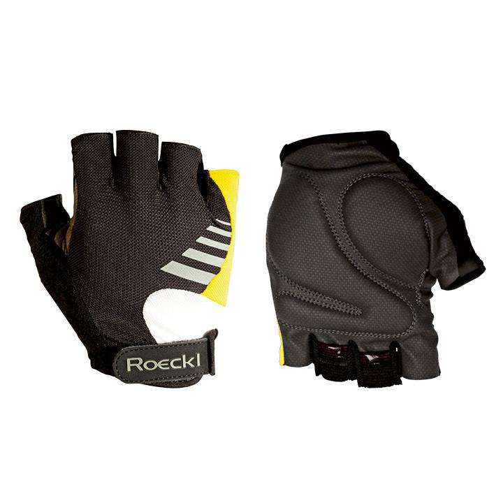 ROECKL Bingen, geel handschoenen, voor heren, Maat 7,5, Fietshandschoenen, Wiele