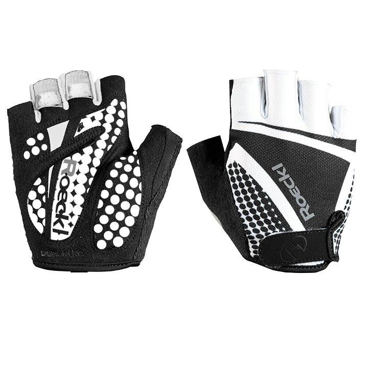 ROECKL Balino, zwart-wit handschoenen, voor heren, Maat 10,5, Fietshandschoenen,