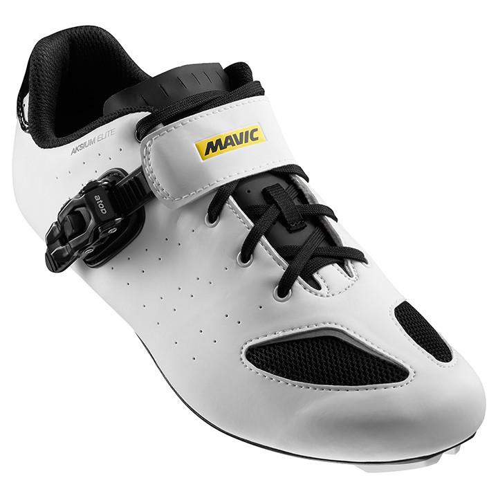 MAVIC Aksium Elite wit-zwart raceschoenen, voor heren, Maat 7, Racefiets schoene