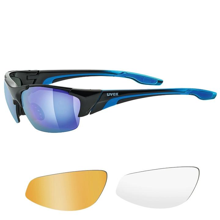UVEX Brillenset Blaze III 2019 bril, Unisex (dames / heren), Sportbril,