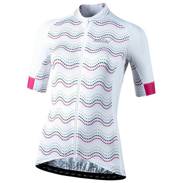 NALINI Damesshirt met korte mouwen Beijing 2008 damesfietsshirt, Maat S, Fietssh