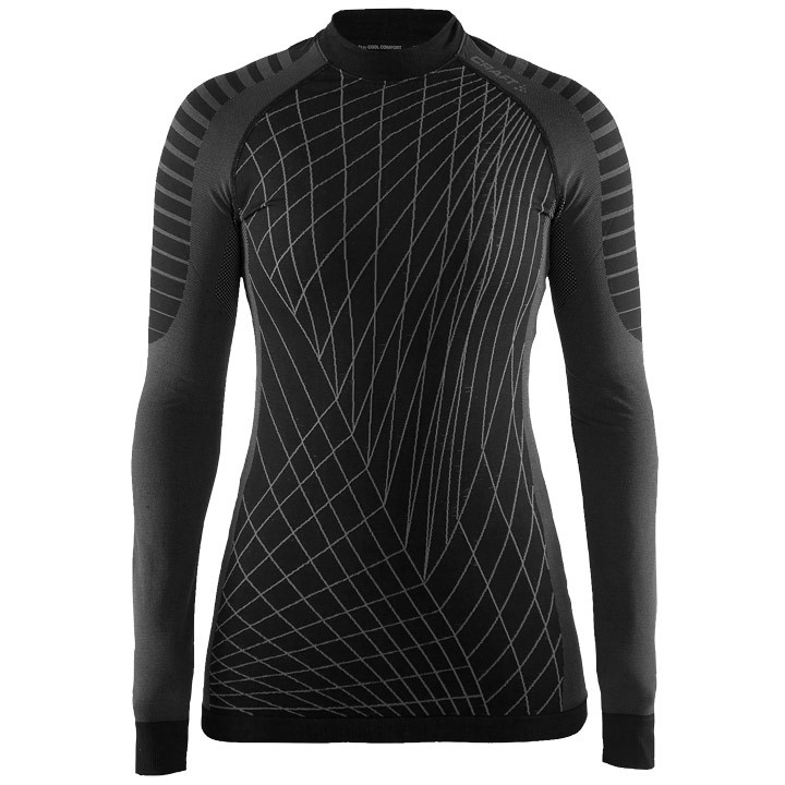 CRAFT Dames fietsonderhemd met lange mouwen Active Intensity, Maat M, Onderhemd,