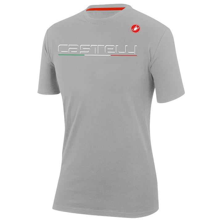 CASTELLI T-shirt Classic t-shirt, voor heren, Maat XL, MTB shirt, MTB kleding