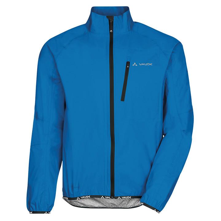 VAUDE Drop III, blauw regenjack, voor heren, Maat 2XL, Regenjas, Regenkleding