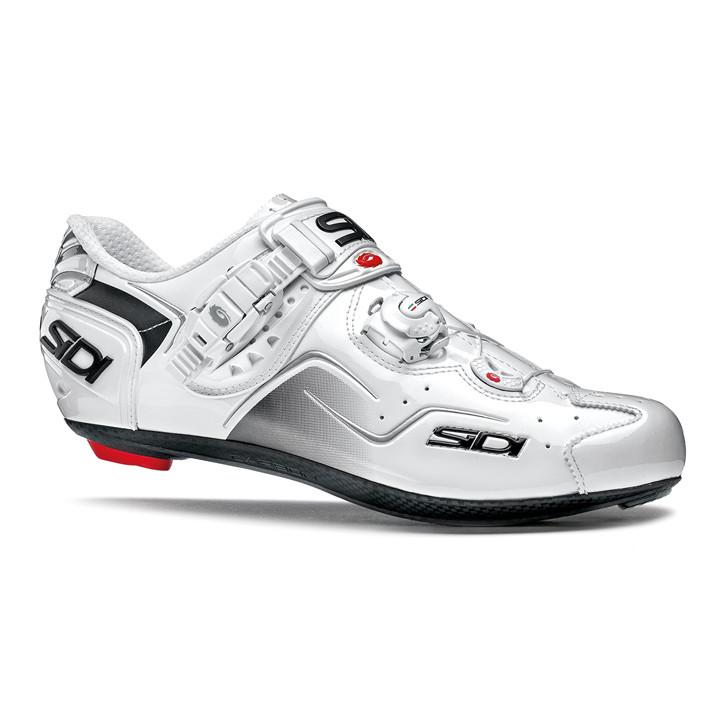 SIDI fietsschoenen Kaos 2019 wit raceschoenen, voor heren, Maat 46, Racefiets sc