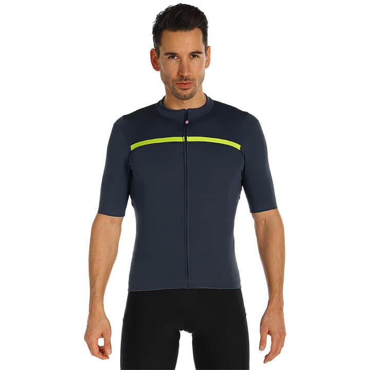 CASTELLI Shirt met korte mouwen Unlimited fietsshirt met korte mouwen, voor here