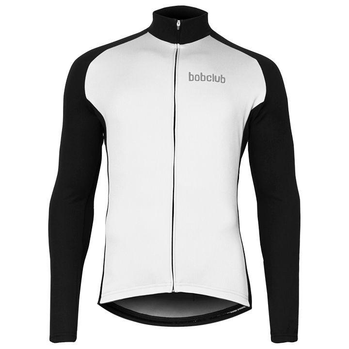 Wielrenshirt, BOBCLUB shirt met lange mouwen fietsshirt met lange mouwen, voor h