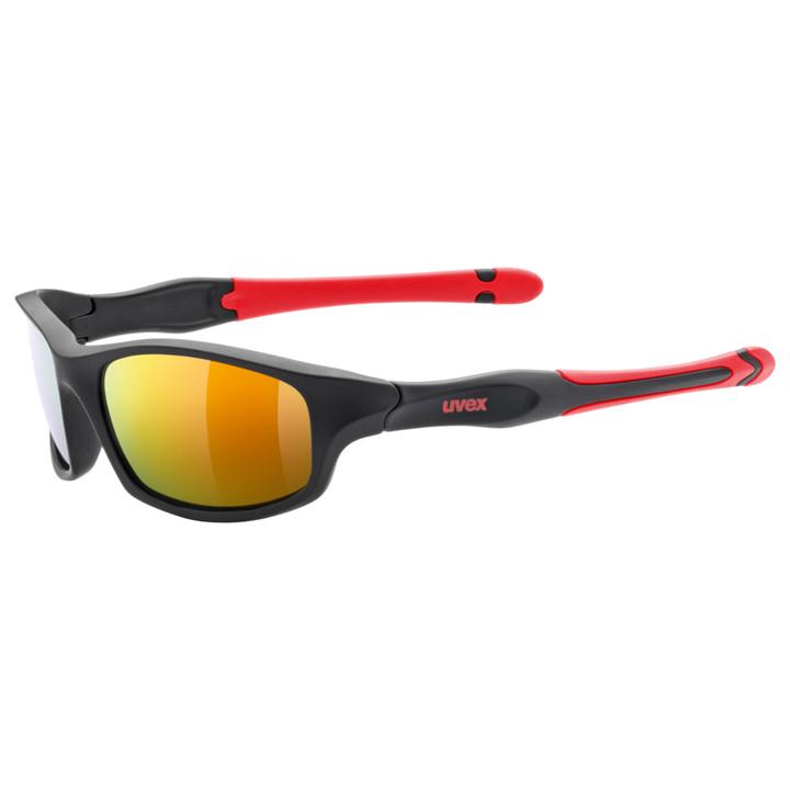 UVEX kinderfietsbril Sportstyle 507 2019 zwart-rood