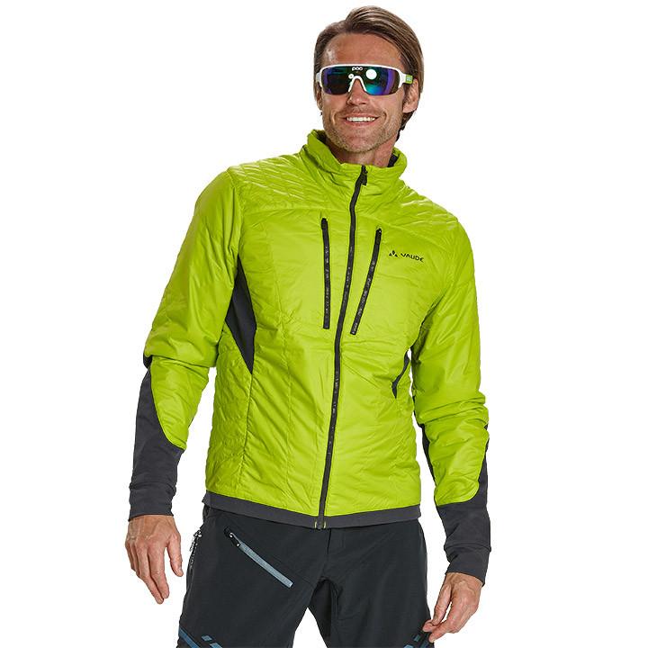 VAUDE MTB-winterjack Minaki groen Thermojack, voor heren, Maat S, Fiets jas, Fie