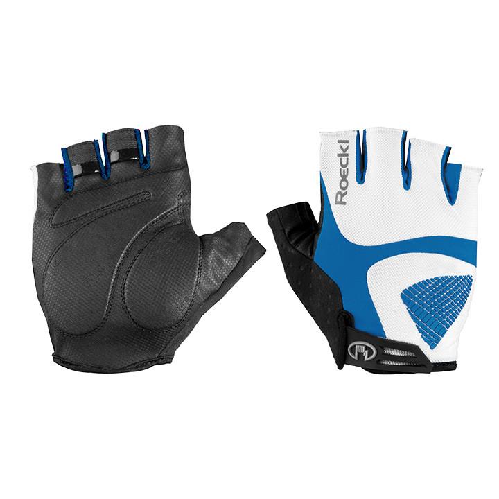 ROECKL Inverness wit-blauw handschoenen, voor heren, Maat 7, Fietshandschoenen,
