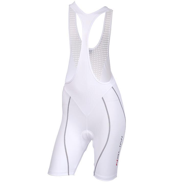 NALINI PRO Spina, wit korte dameskoersbroek, Maat XL, Fietsbroek, Wielerkleding