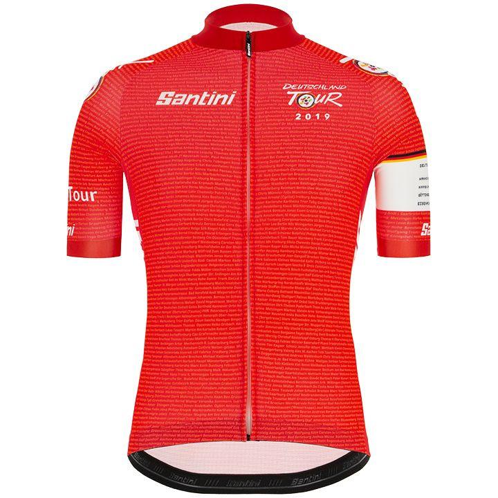 DEUTSCHLAND TOUR 2019 fietsshirt met korte mouwen, voor heren, Maat 2XL, Fiets s