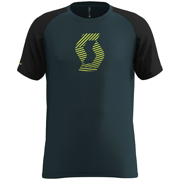 SCOTT T-shirt 10 Icon Raglan t-shirt, voor heren, Maat S, MTB shirt, Mountainbik