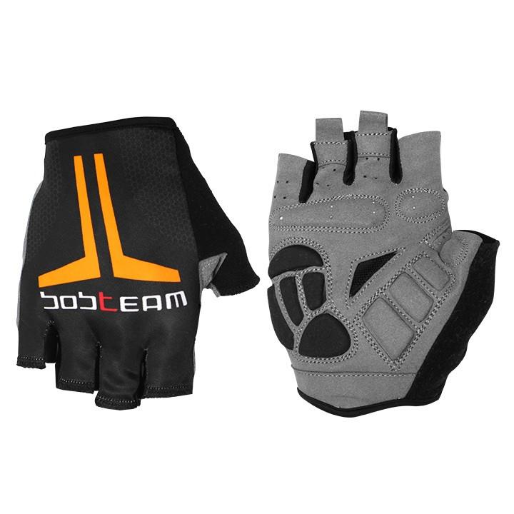 Fietshandschoenen, BOBTEAM EVOLUTION 2.0 handschoenen, zwart-oranje