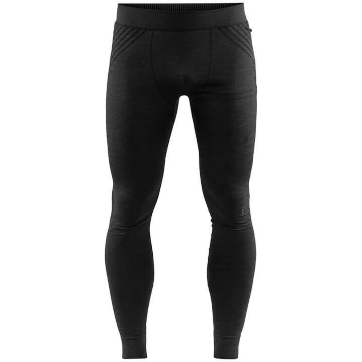 CRAFT Lange fietsonderbroek zonder zeem Fuseknit Comfort, voor heren, Maat XL, F