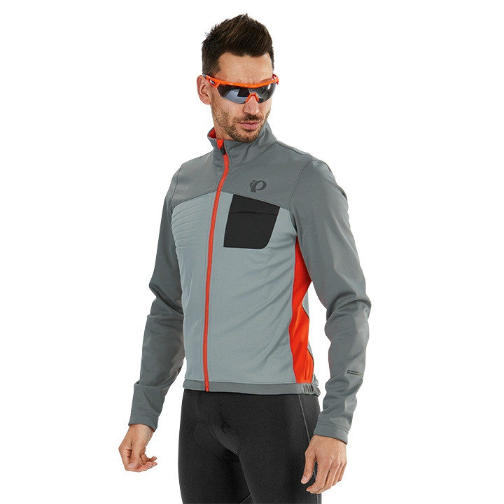 PEARL IZUMI Winterjack Select Escape Softshell Thermojack, voor heren, Maat L,