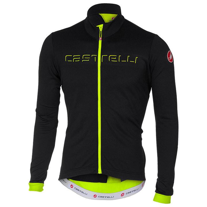 CASTELLI Shirt met lange mouwen Fondo fietsshirt met lange mouwen, voor heren, M