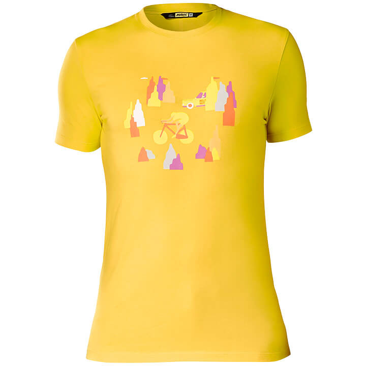 MAVIC T-shirt SSC t-shirt, voor heren, Maat L, MTB shirt, Mountainbike kleding