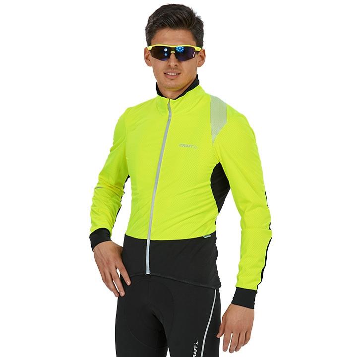 CRAFT Verve Light Jacket, voor heren, Maat 2XL, Fietsjas, Fietskleding