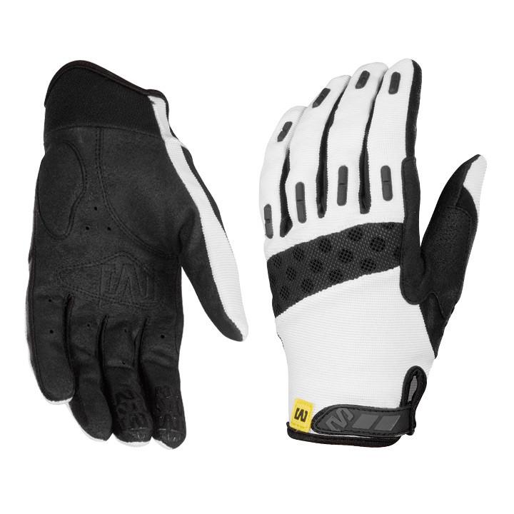 MAVIC damesfietsmet lange vingers Single Track , wit handschoenen, Maat XL, Wiel