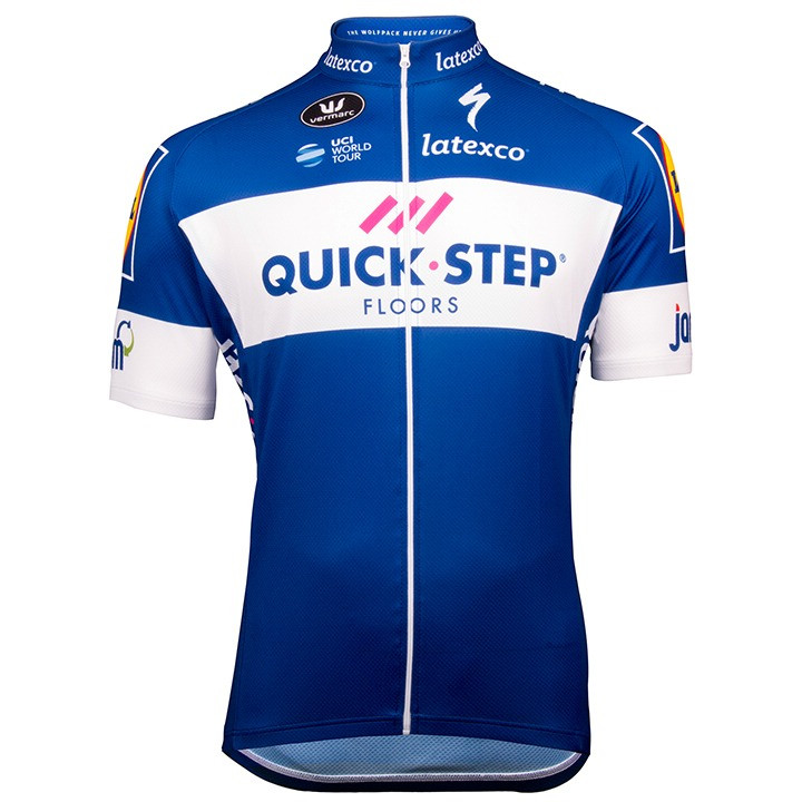 QUICK - STEP FLOORS 2018 Kurzarmtrikot, für Her...