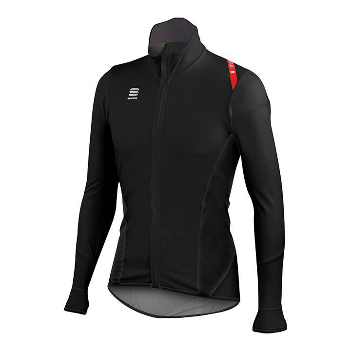 SPORTFUL Fiandre Light NoRain zwart Light Jacket, voor heren, Maat XL, Wielerjac