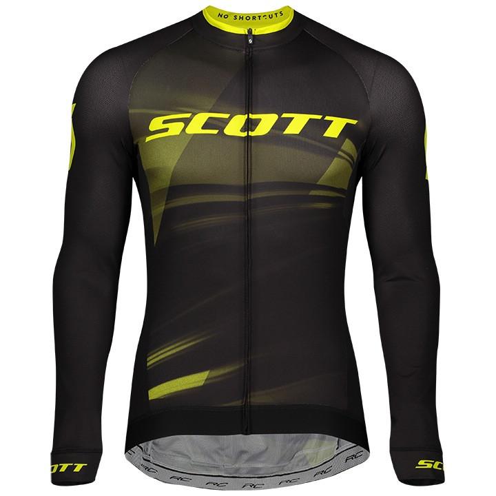 SCOTT Shirt met lange mouwen RC Pro fietsshirt met lange mouwen, voor heren, Maa