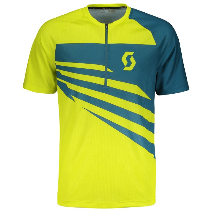 SCOTT Bikeshirt Trail 10 bikeshirt, voor heren, Maat XL, Wielershirt,