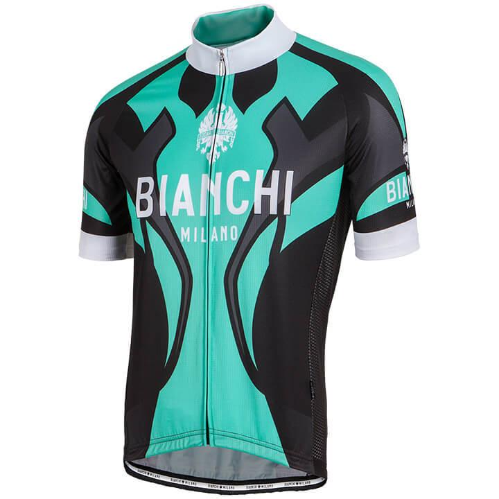 BIANCHI MILANO Shirt met korte mouwen Ocreza fietsshirt met korte mouwen, voor h