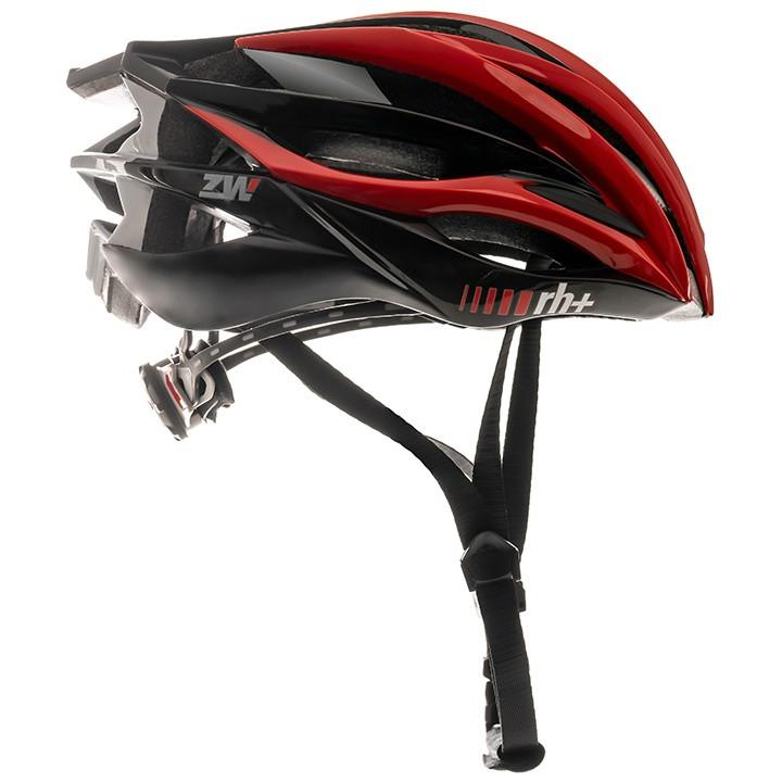 rh+ RaceZW 2020 fietshelm, Unisex (dames / heren), Maat M, Fietshelm, Fietsacces