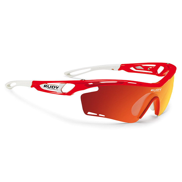 RUDY PROJECT fietsbril Tralyx red fluo gloss sportbril, Unisex (dames / heren),