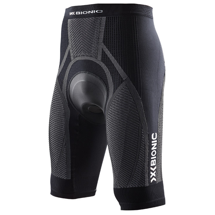 X-BIONIC Bike The Trick korte fietsbroek, voor heren, Maat 2XL, Fietsbroek,