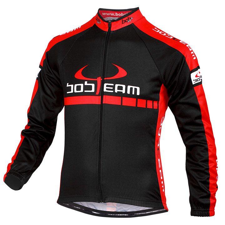 Fietsshirt kinder, BOBTEAM kinderInfinity fietsshirt met lange mouwen, Maat XL,