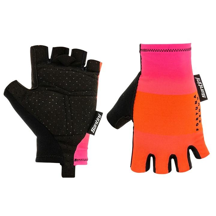 SANTINI Handschoenen Fortuna handschoenen, voor heren, Maat M, Fietshandschoenen