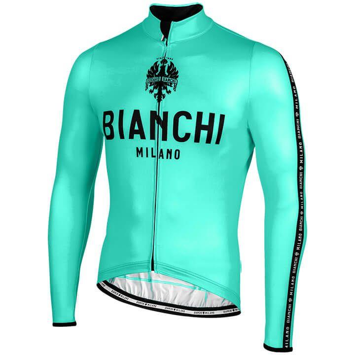 BIANCHI MILANO Shirt met lange mouwen Carpegna fietsshirt met lange mouwen, voor