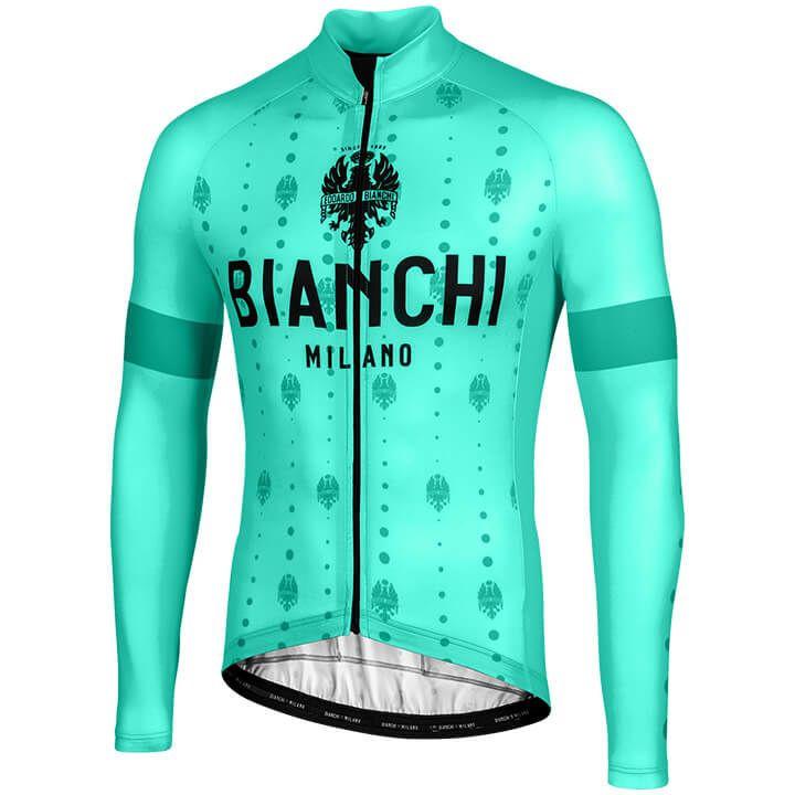 BIANCHI MILANO Shirt met lange mouwen Perticara fietsshirt met lange mouwen, voo