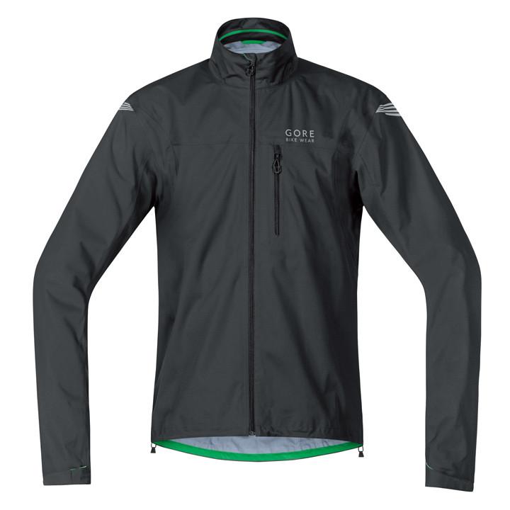 GORE Element GT AS zwart regenjack, voor heren, Maat XL, Regenjas, Regenkleding