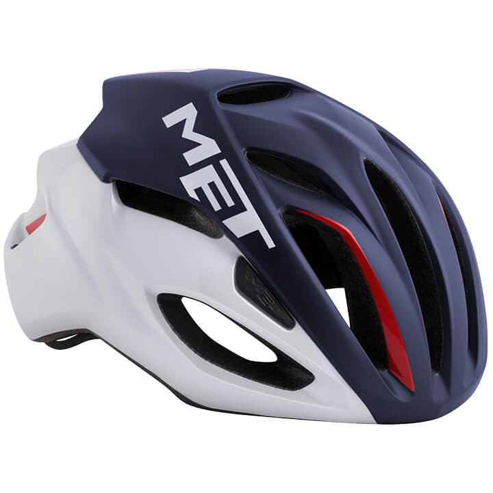 MET RaceRivale 2019 fietshelm, Unisex (dames / heren), Maat M, Fietshelm, Fietsa