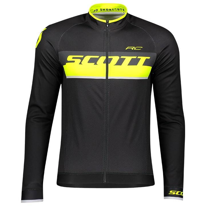 SCOTT Shirt met lange mouwen RC AS fietsshirt met lange mouwen, voor heren, Maat