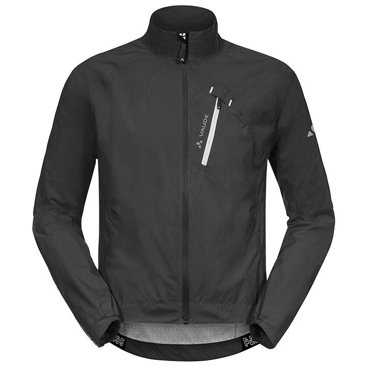 VAUDE Sky Fly II, zwart regenjack, voor heren, Maat XL, Regenjas, Regenkleding