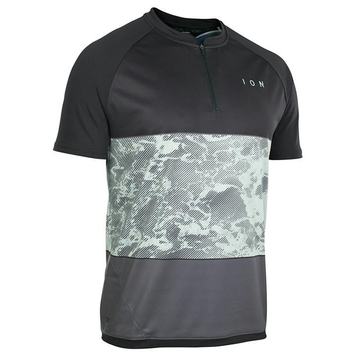 ION Fietsshirt Traze AMP bikeshirt, voor heren, Maat 2XL, Wielershirt, Wielerkle