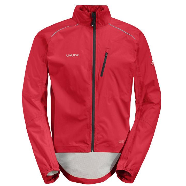 VAUDE Spray III, rood regenjack, voor heren, Maat 2XL, Regenjas, Regenkleding