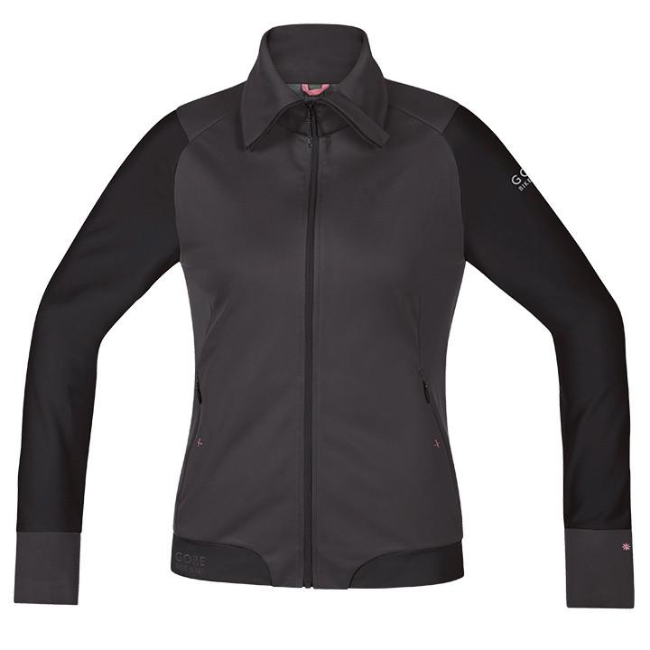 GORE dames windjack Power Trail bruin-zwart dameswindjack, Maat 38, MTB jas, Wie