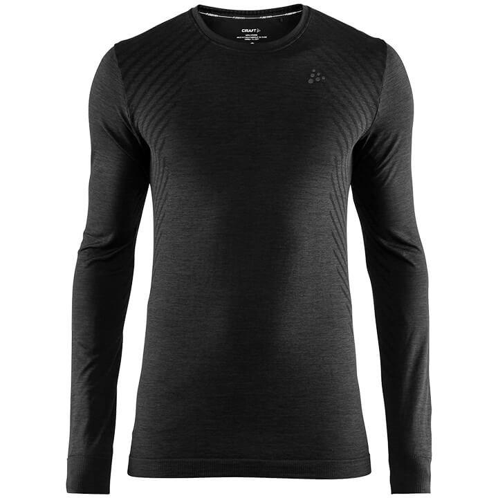 CRAFT Fietsmet lange mouwen Fuseknit Comfort onderhemd, voor heren, Maat XL,